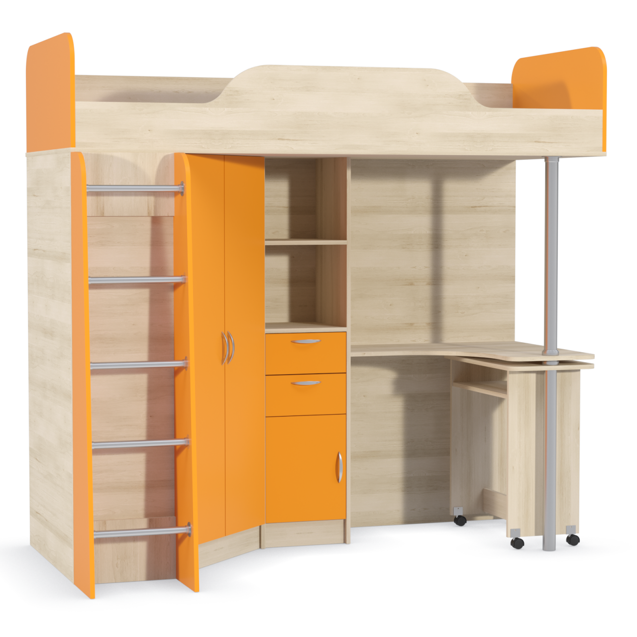 кровать 427 Оранжевый