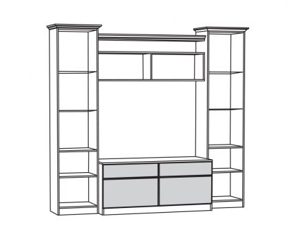 Набор мебели 1 схема
