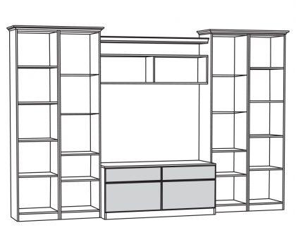 Набор мебели 3 схема