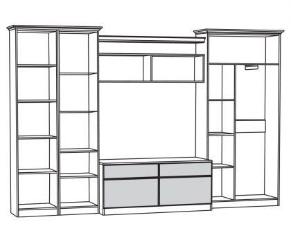 Набор мебели 4 схема