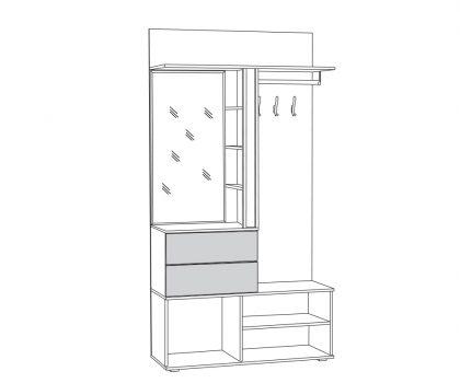 Шкаф МЦН 03.300 схема