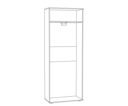 Шкаф комбинированный 03.275 схема