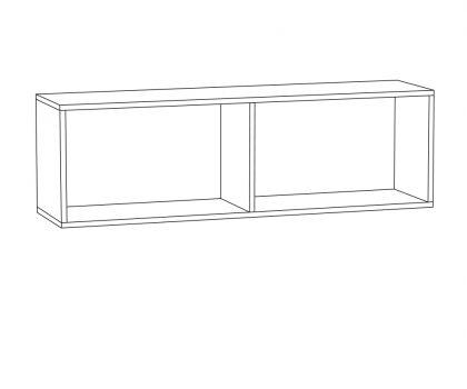 Шкаф навесной 08.117 1 дверь схема