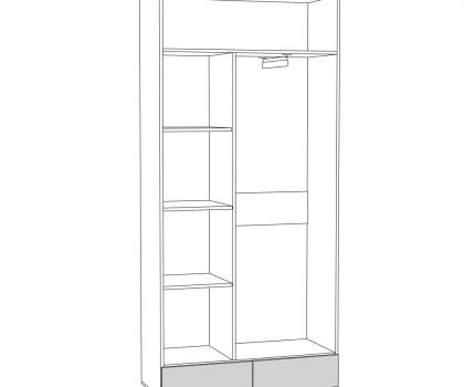 Шкаф МЦН 03.223 схема
