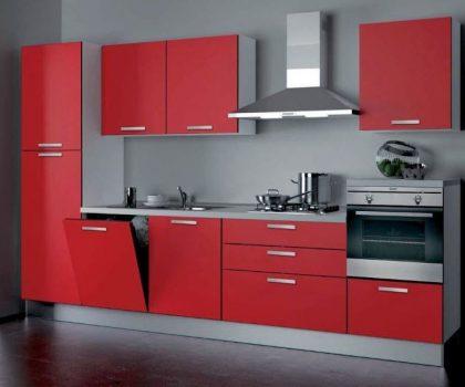 кухня прямая 010